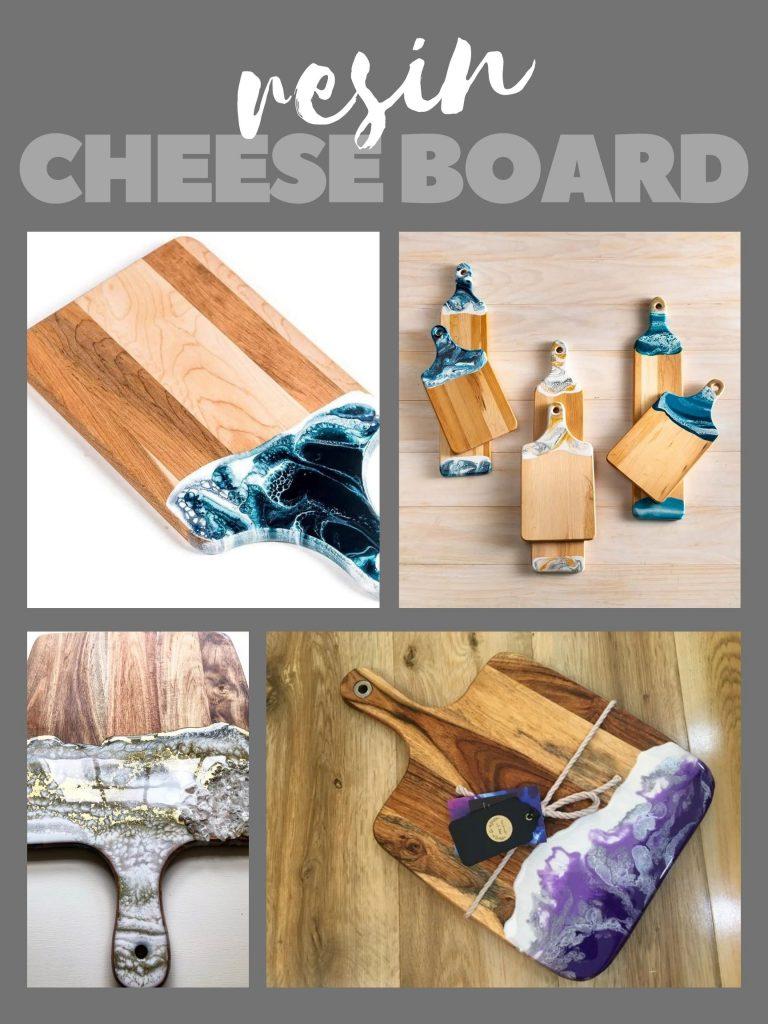 Resin Cheese Board