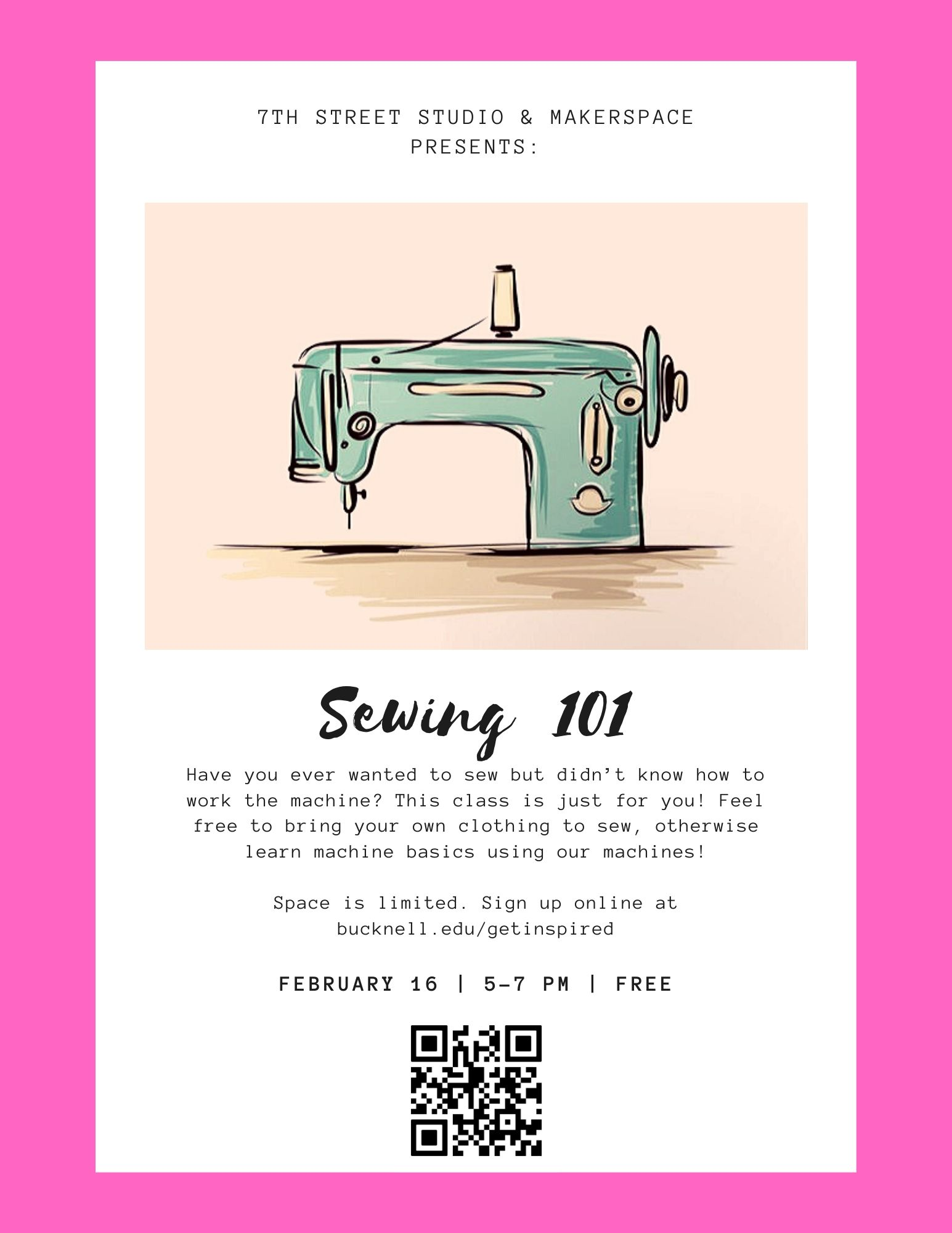 Feb. Sewing Class