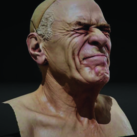 3D printing a bust