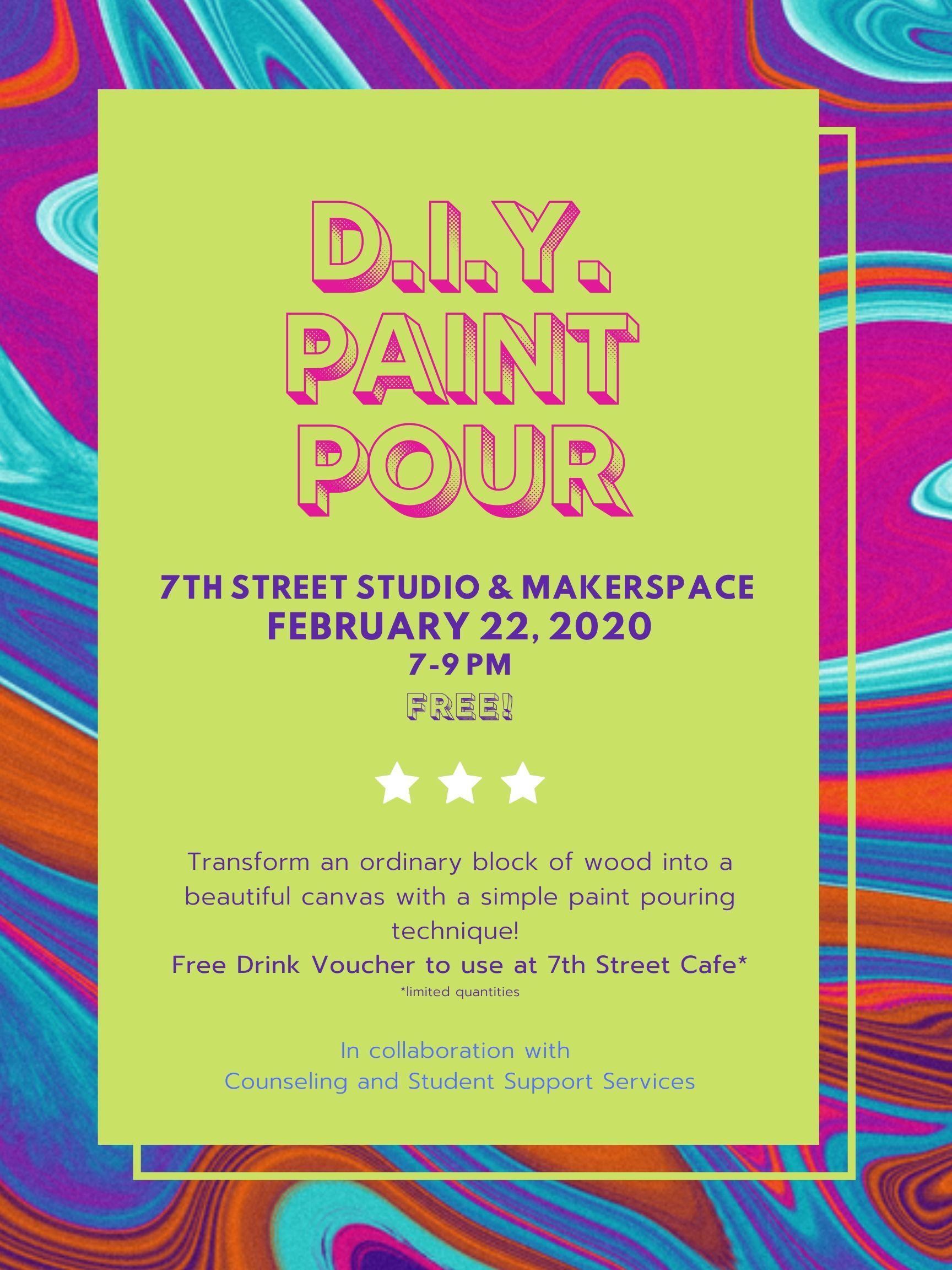 DIY Paint Pour